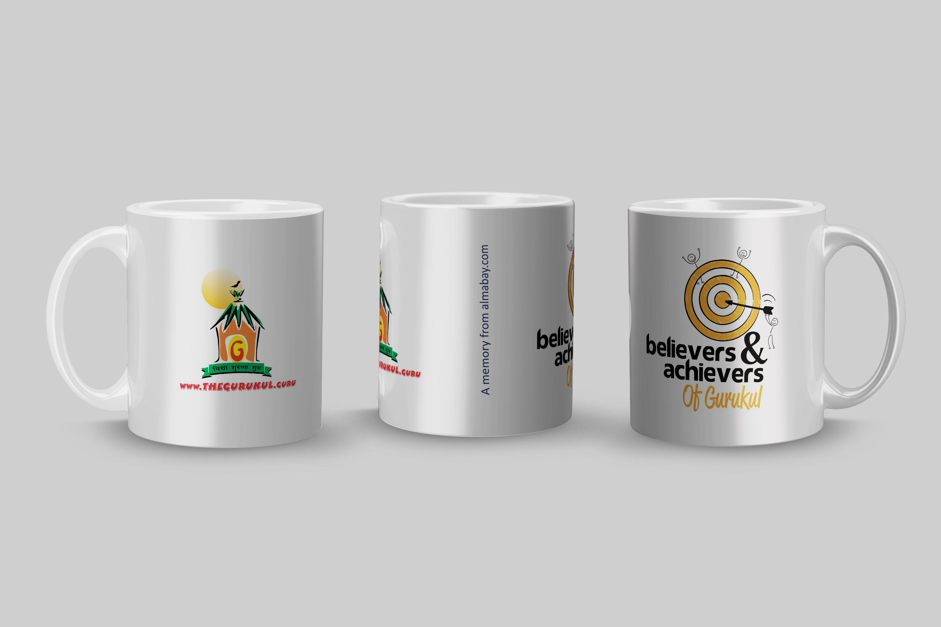 Believers & Achievers Of Gurukul Mug